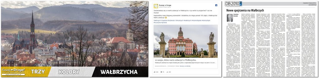 Artykuły o Wałbrzychu były komentowane w lokalnej prasie