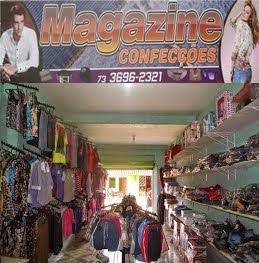 Magazine Confecções -- Rua João Coutinho em Taboquinhas