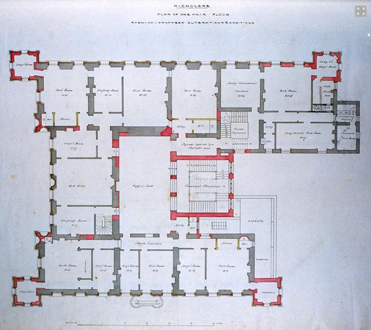 Highclere Castle Floor Plan