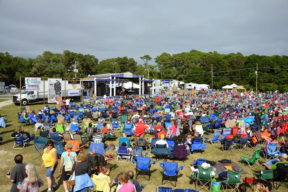 Pleasure Island Seafood, Blues & Jazz Festival at Kure Beach