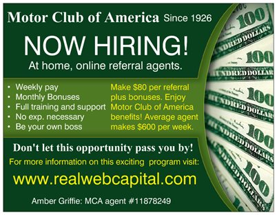 Join Amber Griffie Motor Club Of America Independent Agent