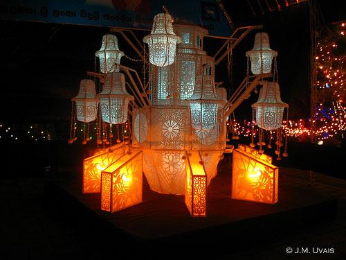 wesak lantern, vesak lantern,