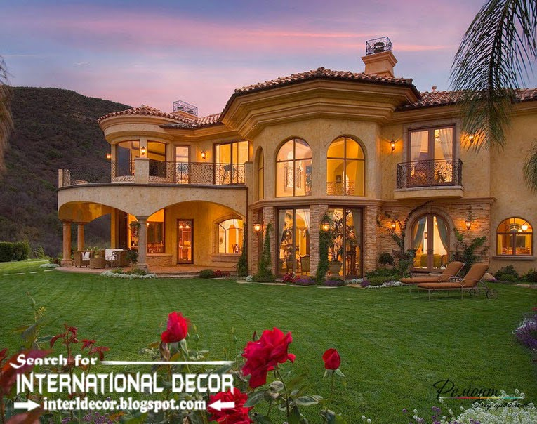 Stylish designs of luxury villas beautiful and comfort for Classic luxury homes