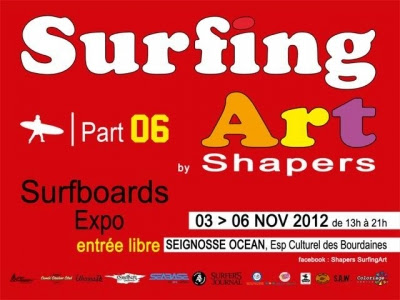 Surfing Art by Shapers 2012 à seignosse