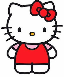 A picture of hello kitty