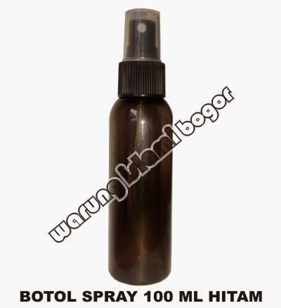 Jual Botol Spray 100ml Warna Hitam