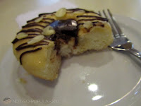 Dark Chocolate Almond Doughnut