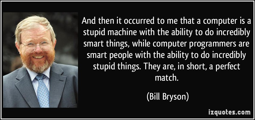 bill bryson science quotes