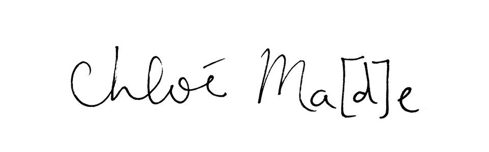 Chloé Ma[d]e. - Blog