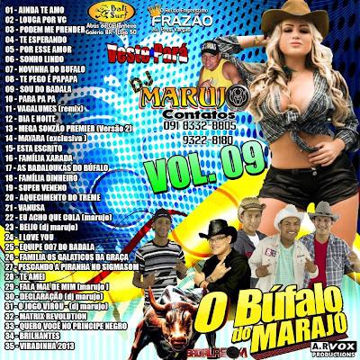 CD BADALASOM VOL.09 (MELODY 2013) - PRODUÇÃO DJ MARUJO