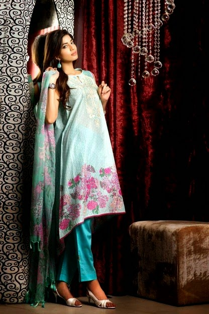 Khaadi presented Eid Lawn Dresses