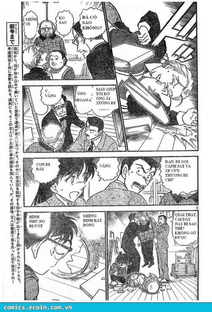 Detective Conan - Thám Tử Lừng Danh Conan chap 589 page 3 - IZTruyenTranh.com
