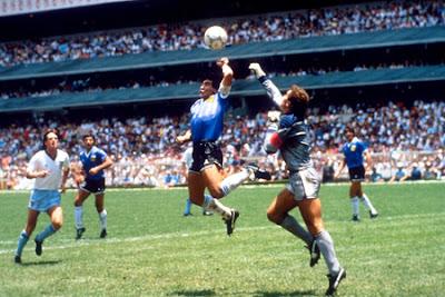 maradona gol mano inghilterra argentina