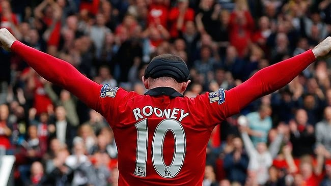 Gol Menakjubkan Wayne Rooney Dari Tengah Padang Vs West Ham 2014