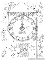 Mewarnai Detik-Detik Datangnya Tahun Baru 2013