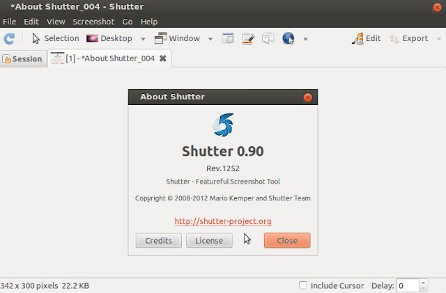 install shutter in ubuntu 12.04/12.10