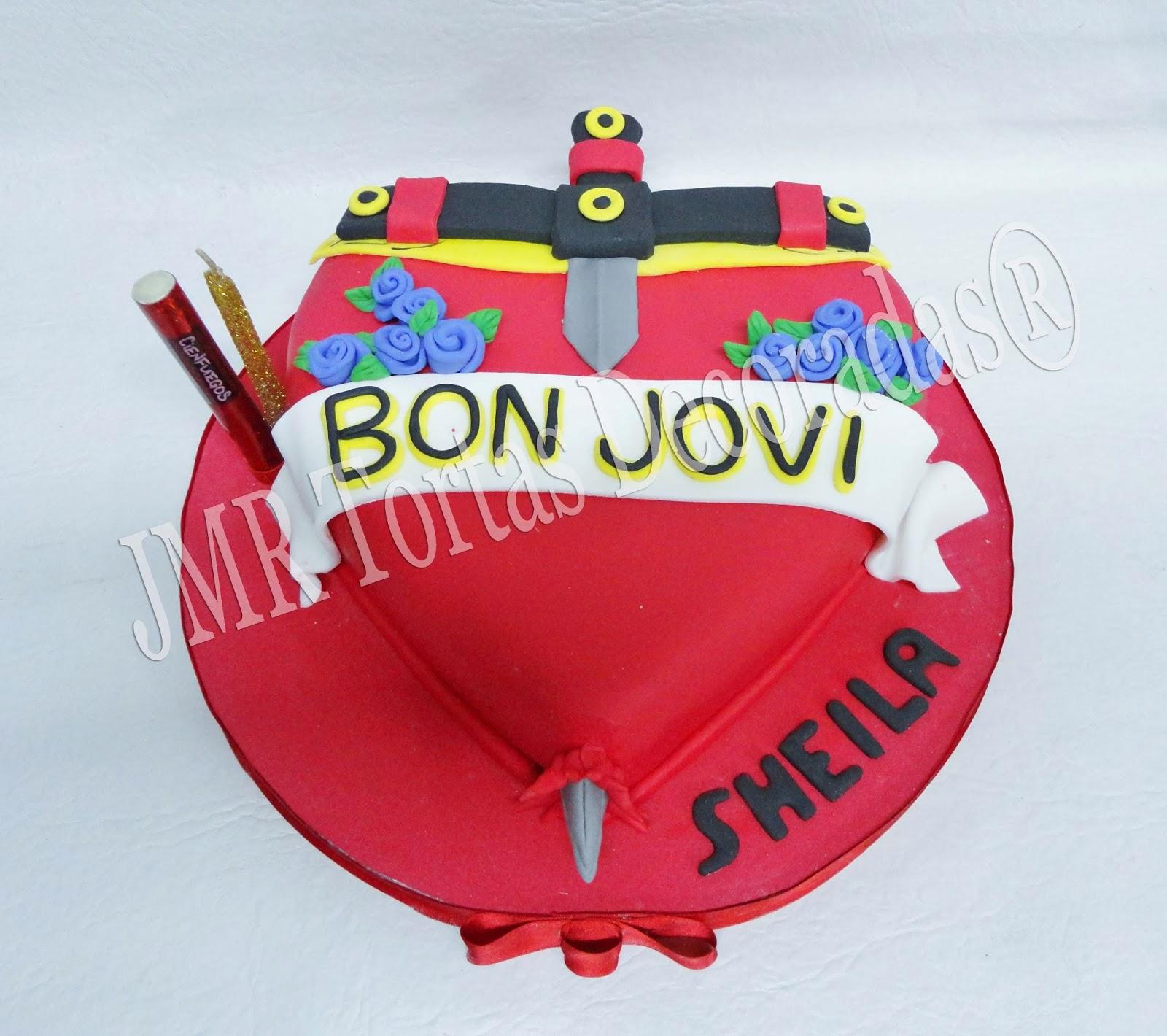 Bon Jovi | JMR Tortas Decoradas
