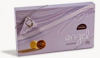 Angel chocolate Cacau Show dia dos namorados