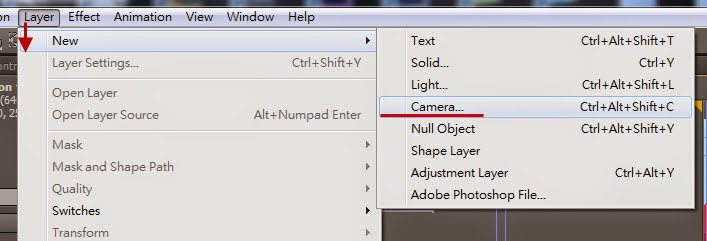 Use Null object control DOF 03