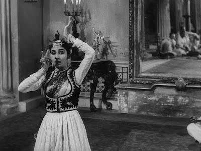 Roshan Kumari's dance performance, Jalsaghar aka The Music Room (1958), Directed by Satyajit Ray
