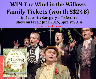 The Wind in the Willows Show Tickets Giveaway