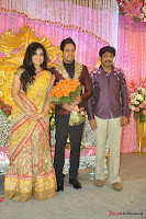 Celebraties at Actor Bharat n Jessy Wedding Reception Photos+%25289%2529 Actor Bharath n Jessy Wedding Photos
