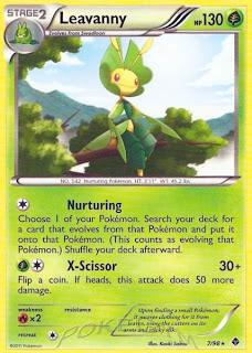 Leavanny Pokemon Card Emerging Powers set