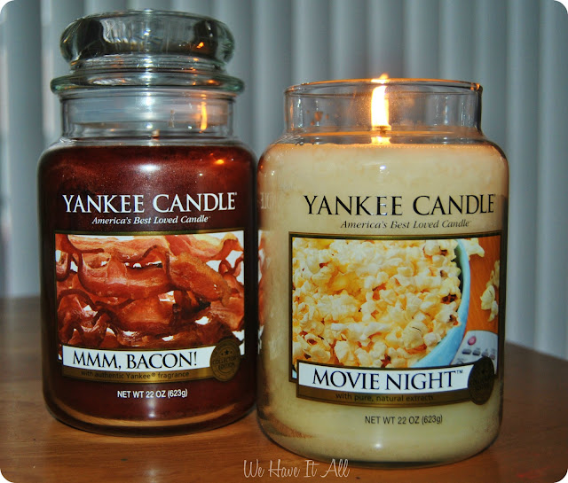 Man Candle Collection from Yankee Candle Co.
