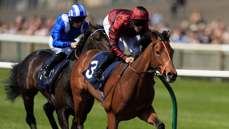 Our 50/1 Newmarket Winner CARNIVAL KING Winning On The Opening Day Of The 2015 Flat Season