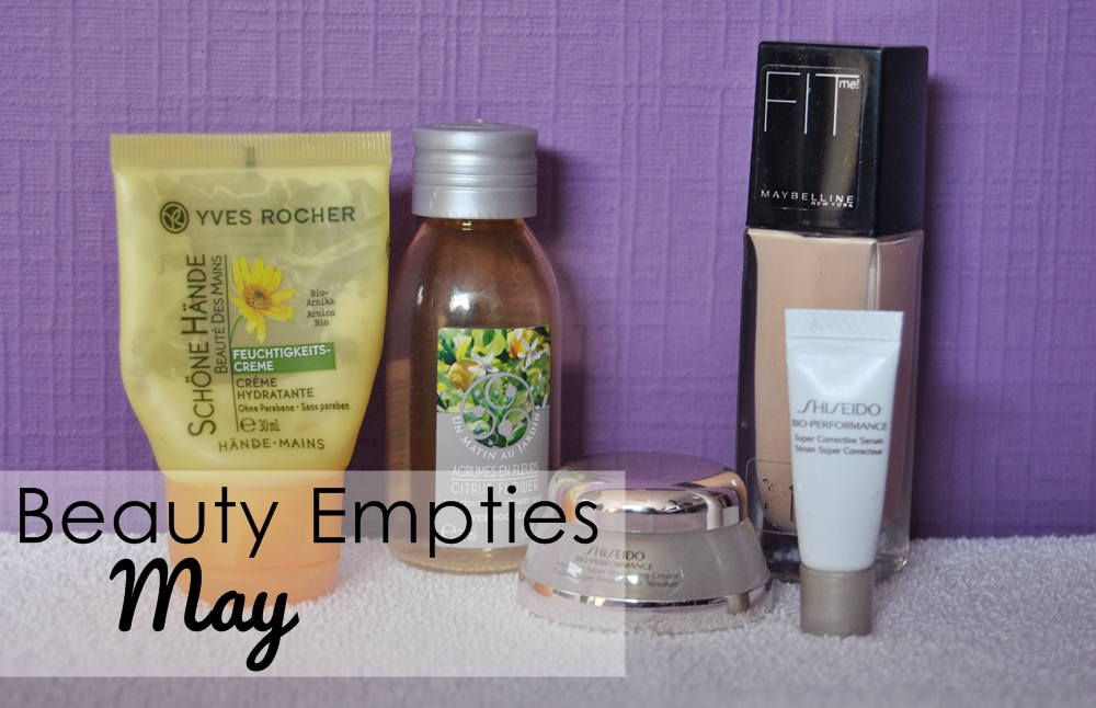 beauty empties may