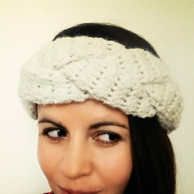 Turbante / Banda en Trenza a Crochet - Ahuyama Crochet