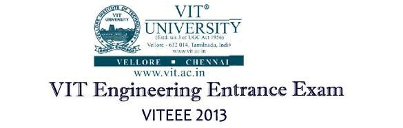 VITEEE-2013 RESULTS Download Online