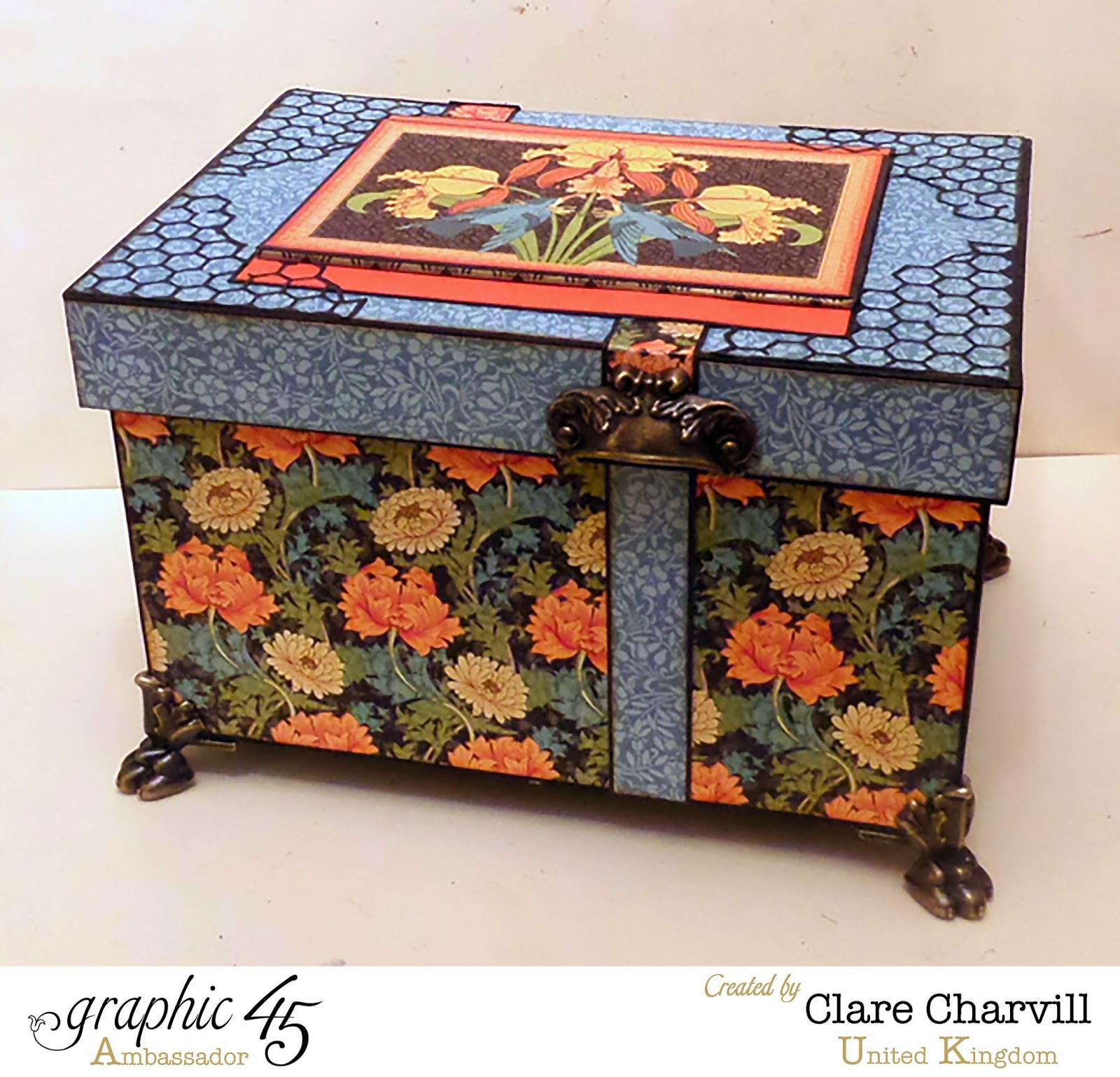 Artisan Style This N That Box Clare Charvill Graphic 45
