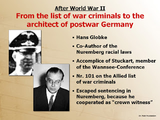 Criminoso de Guerra; Arquitecto da Alemanha Pós-Guerra; Hans Globke; NAZI; Criminal; Postwar Architect