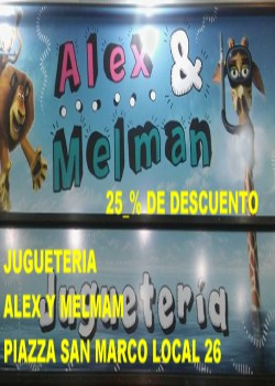ALEX Y MELMAN JUGUETERÍA