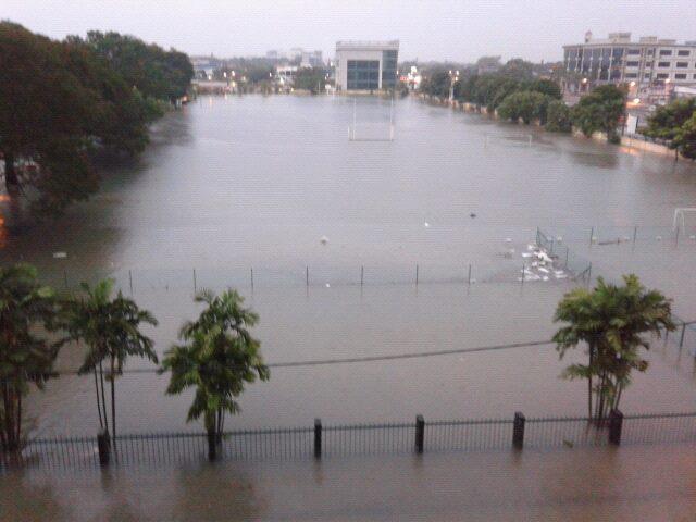 Gambar banjir kilat kat Klang