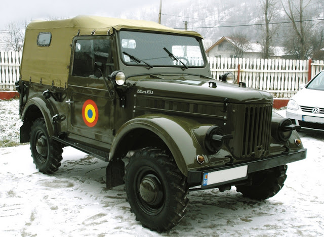 Romanian Car  Aro M461 model image