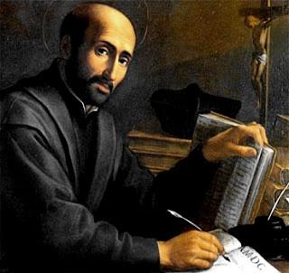 31 juillet Saint Ignace de Loyola Ignatius+Loyola+(1491-1556).+Spanish+founder+of+Jesuit+Order.+Counter-Reformation.+-+ceiling+-+Vignola+-+Pope+Francis+I+-+st+Peter's+Basillaca+-+Rome+-+Reflections+2013+