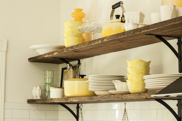 6 Ways to Style Open Shelving
