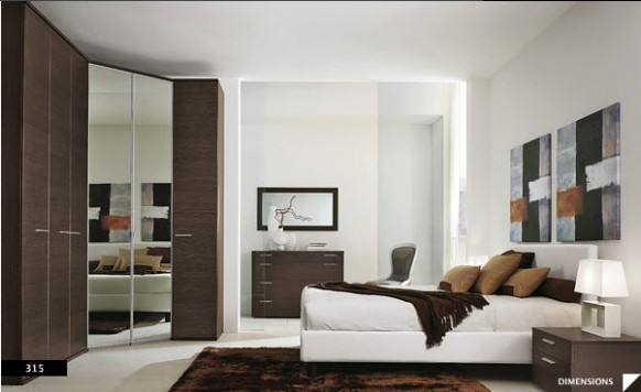 Decoracion de dormitorios modernos habitaciones modernas - Habitaciones decoracion moderna ...