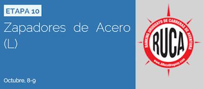 Aventura - Zapadores de acero (08y09/oct/2016)
