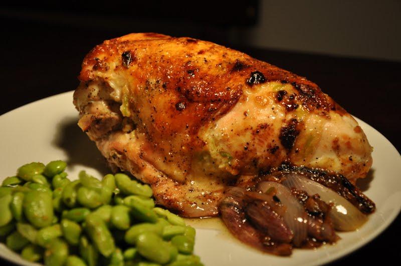 Slice of Rice: Miso-Roasted Chicken with Miso Pan Gravy ...