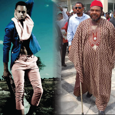 pete edochie biological son