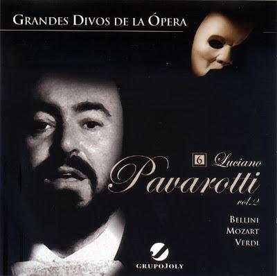 Grandes Divos de la Ópera-cd6-Luciano Pavarotti-carátula frontal