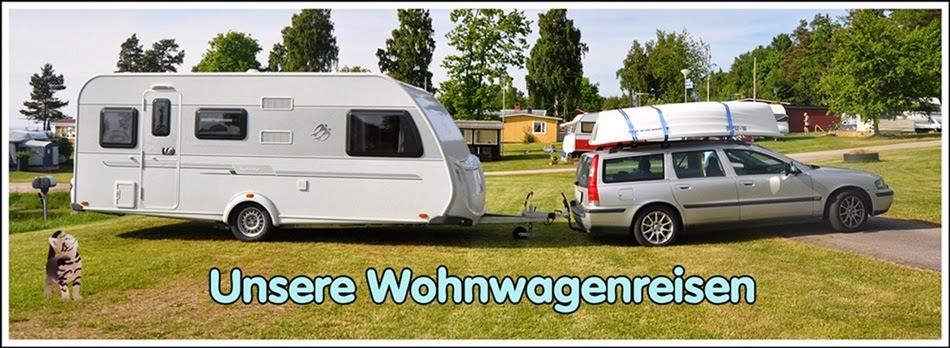 Unsere Wohnwagen-Reisen