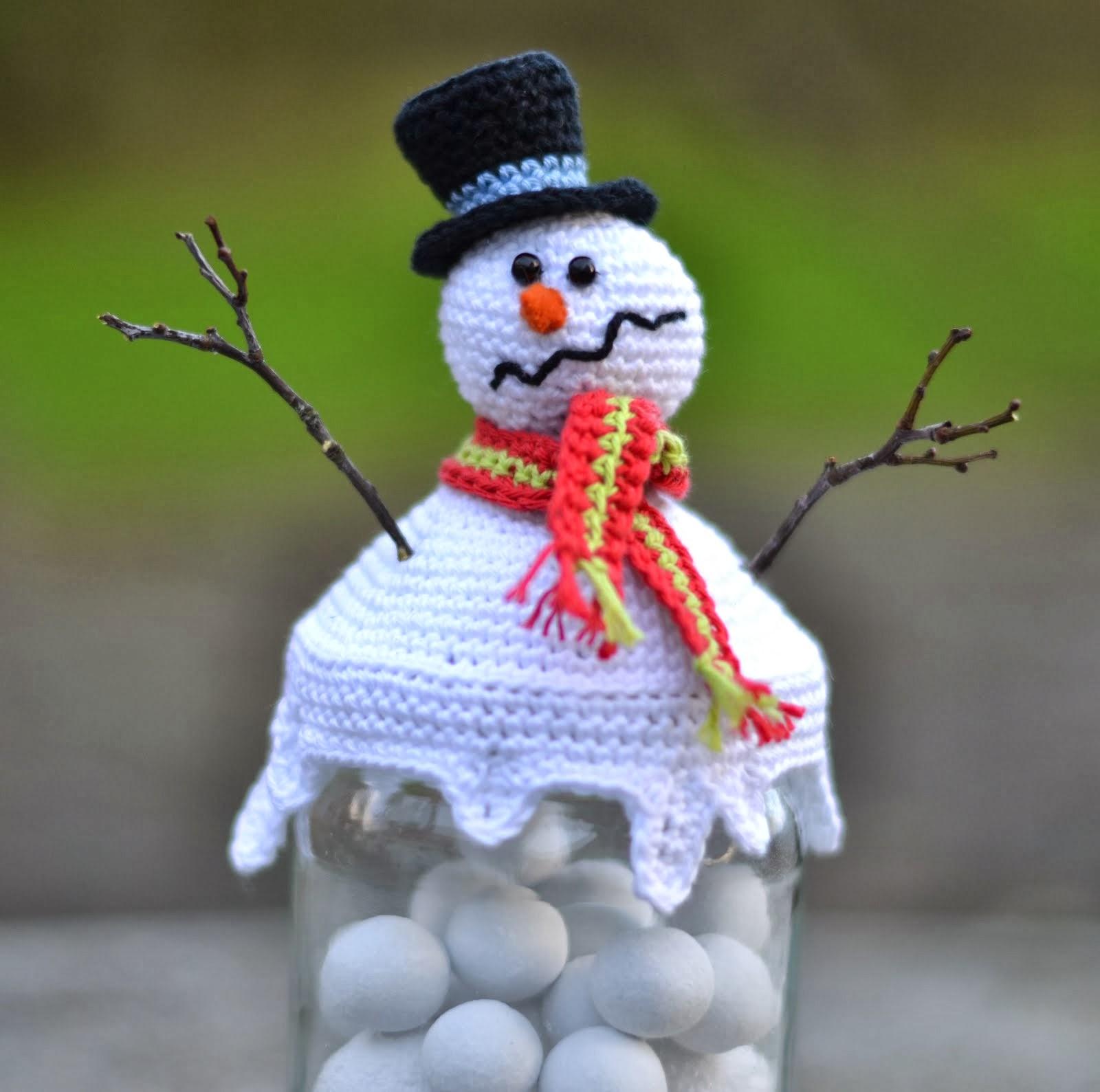 Hæklet snemand