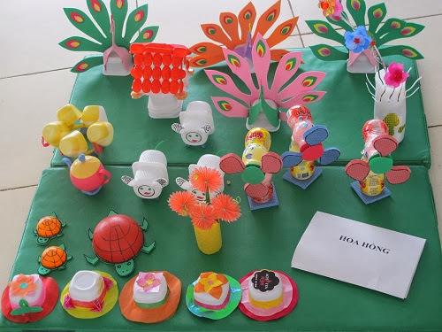 Hội thi đồ dùng đồ chơi tự tạo mầm non