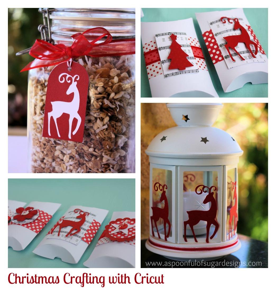 Superb Cricut Christmas Crafts Part - 4: Christmas Paper Crafts + {Giveaway} Win A Cricut Mini Digital Cutter