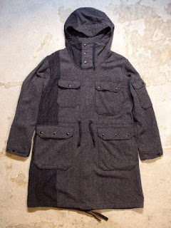 "Engineered Garments ""Over Parka - 16oz Wool Flannel & Block HB"" Fall/Winter 2015 SUNRISE MARKET"