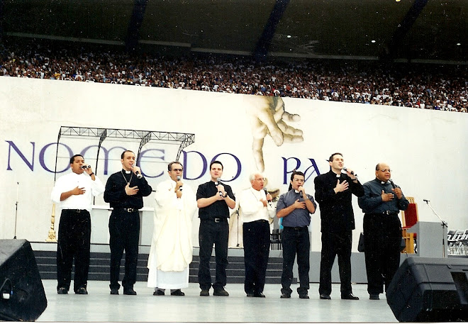 Esta foto foi da visita do Papa ao Brasil (Em nome do Pai)